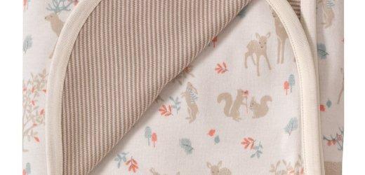 Organics Woodland Blanket – Blue Wolf