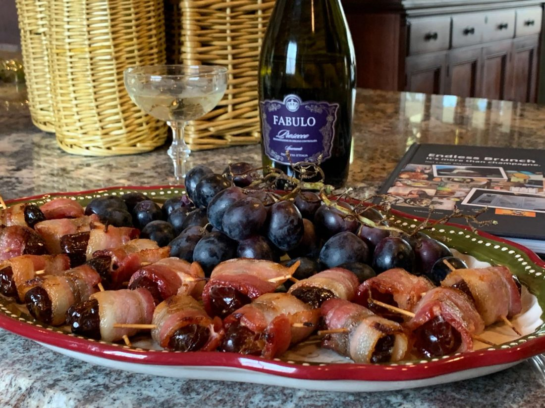 bacon wrapped dates for brunch