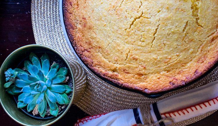 Gluten Free Cornbread and Succulent