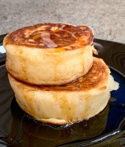 Japanese souffle pancakes