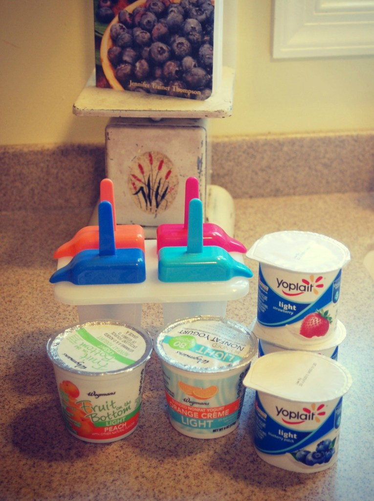 yogurt pop supplies