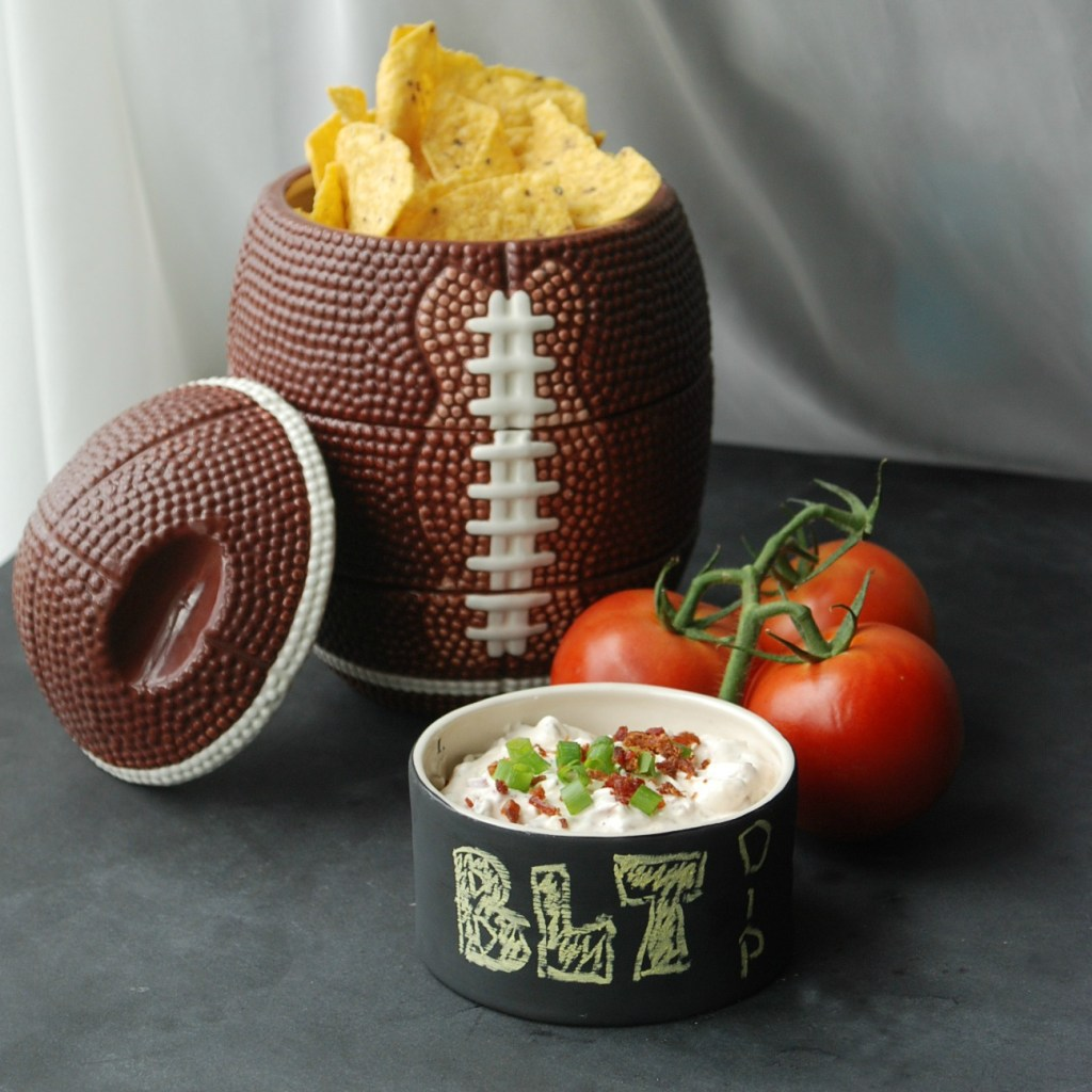BLT Dip - Tailgating Tuesday at Endlessly Inspired