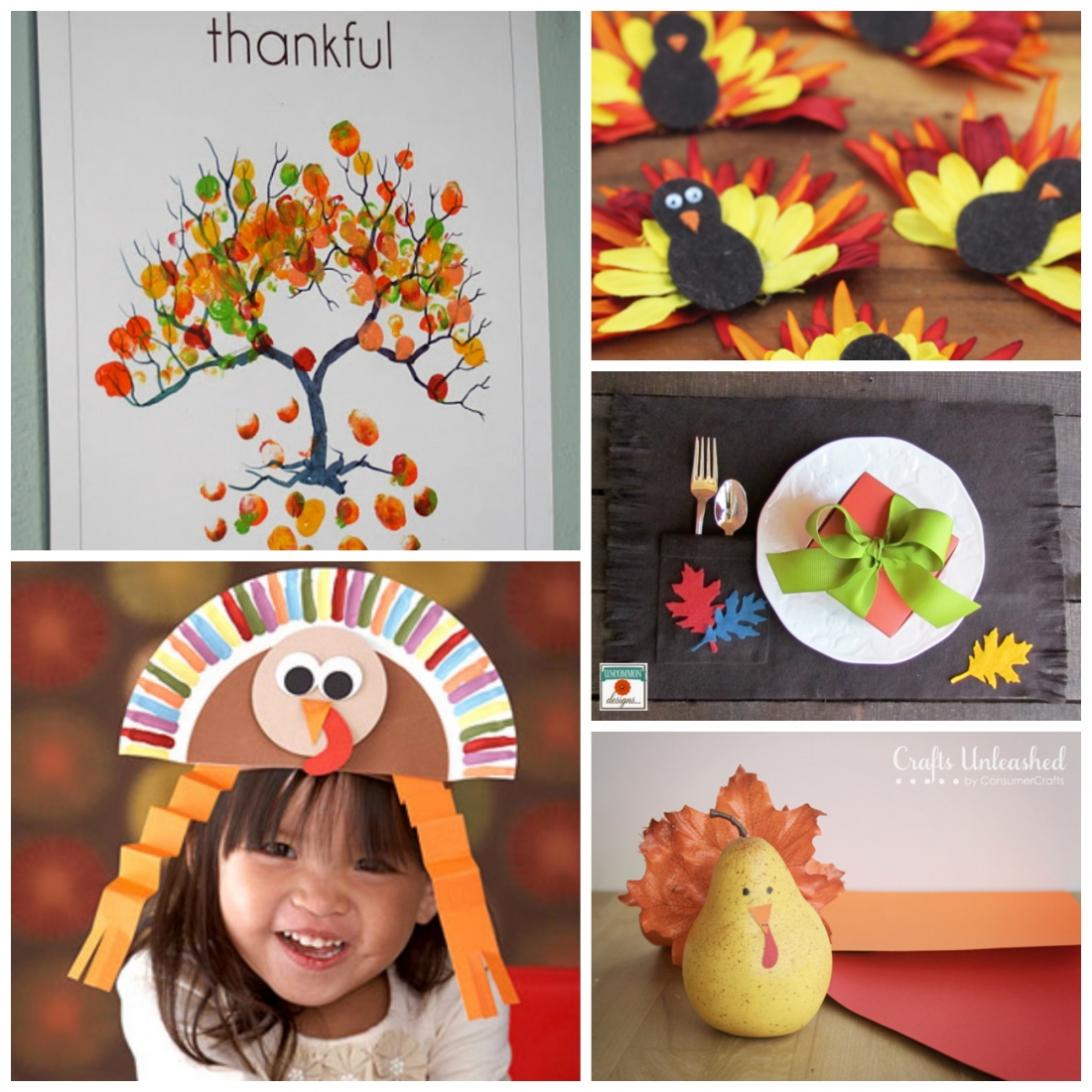 Thanksgiving decorations for kids - Kids Crafts The Ultimate Thanksgiving Crafts And Decor