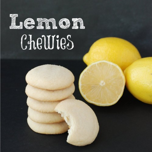Lemon Chewies - 2013 Christmas Cookie Recipe Swap