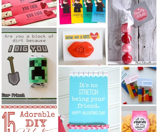15 adorable DIY Valentines -- I seriously can't even believe how cute some of these are!