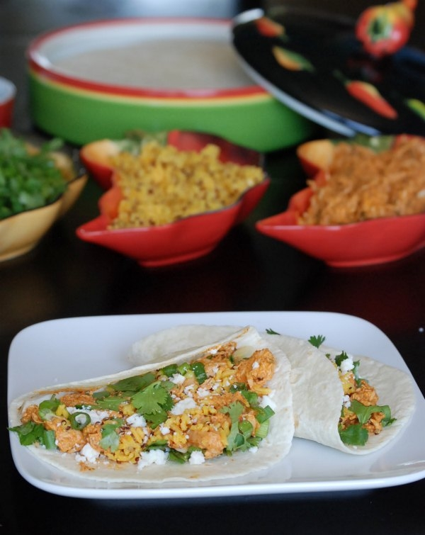 Campbell's Slow Cooker Mexican Red Chile Tacos #EasyPrepMeals #CollectiveBias