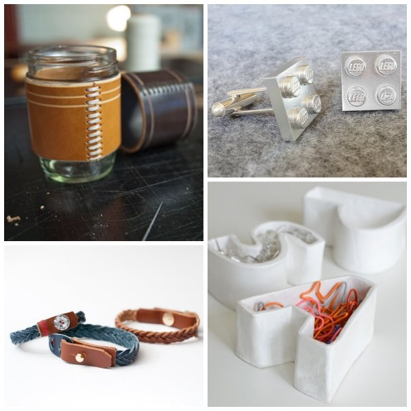 40 Fun DIY Gifts for men - there are so many good ideas in here, for Father's Day or any day!