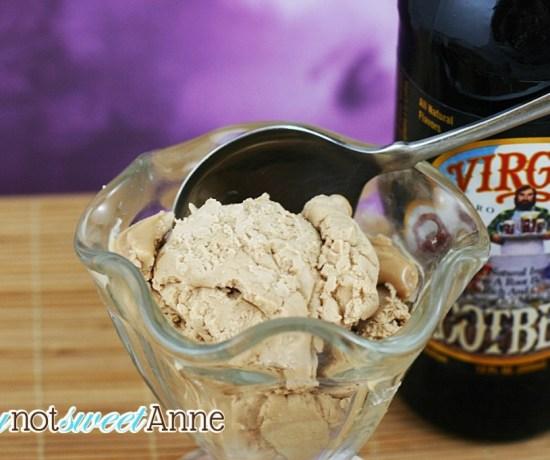 Root beer ice cream