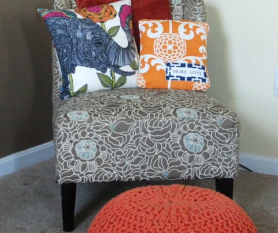 Learn how to totally change the look of a room just by switching out a few pillows, poufs and throws!
