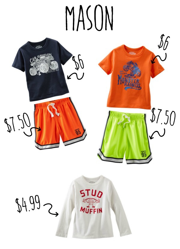 masonOshKosh B'gosh has everything you need for your kids' new spring wardrobe!