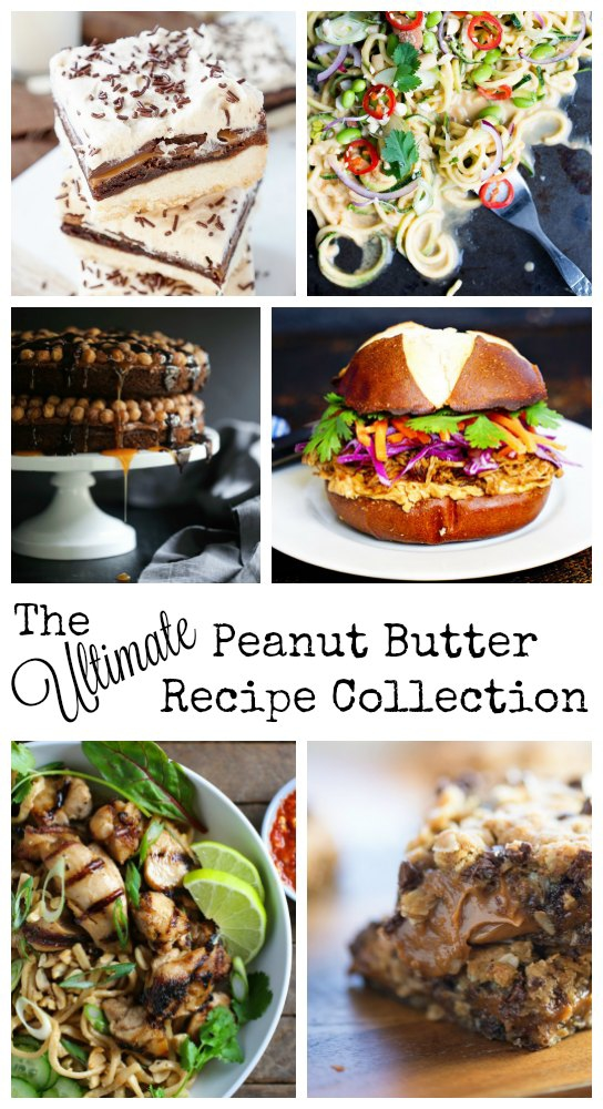 The Ultimate Peanut Butter Recipe Collection: 60 mouth-watering recipes that contain peanut butter. There are both sweet and savory recipes, as well as a few recipes for dogs too!!