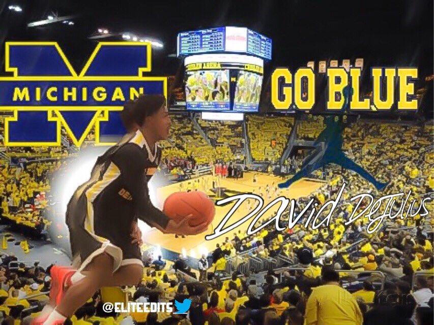 David DeJulius Commits to Michigan