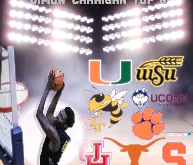 4* Center Dimon Carrigan Speaks on Top 8 Schools