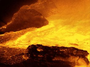 Hot Rock and Lava Artwork © Pennie McCracken - Endless Skys