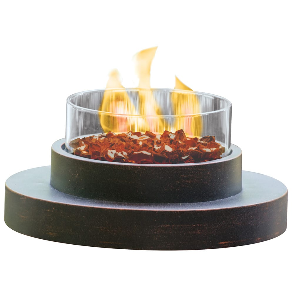 lp gas outdoor table top fire pit