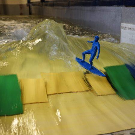 3d River Wave