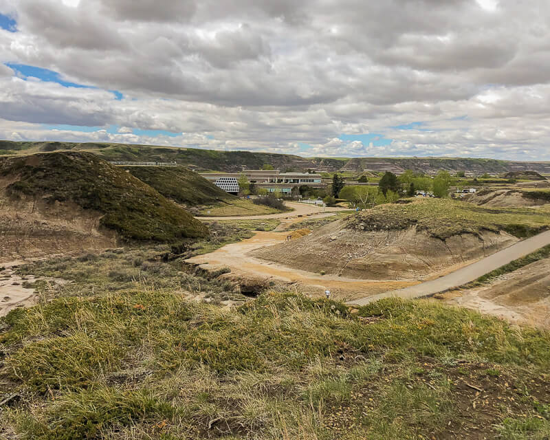 Royal Tyrell Museum and Midlands Provincial Park in Drumheller, Alberta