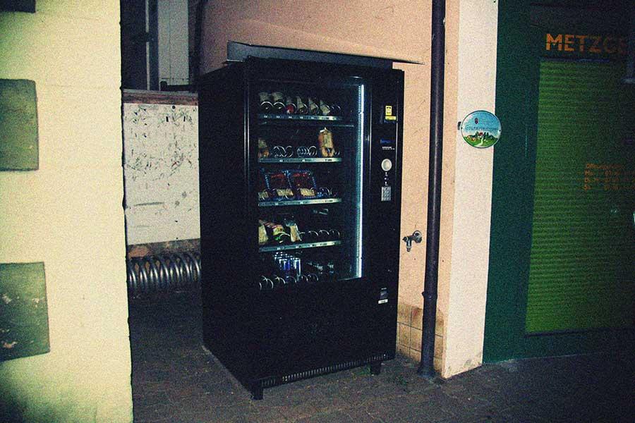 Lebensmittelautomaten, Metzgerei Kirchschläger, Erbach