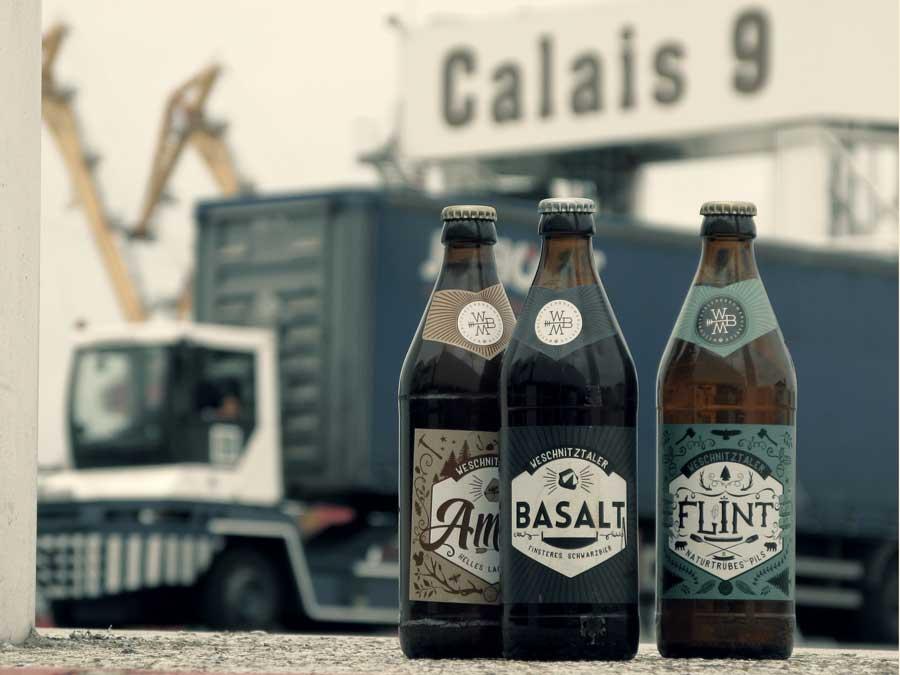 Amber, Basalt und Flint aus der Weschnitztaler Braumanufaktur in Calais