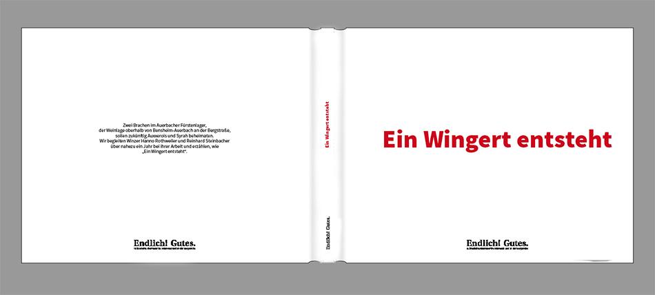 Buch zu der Ausstellung: Ein Wingert entsteht