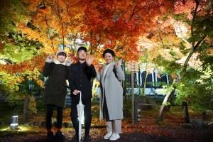 京都の紅葉と、美味しいお料理★