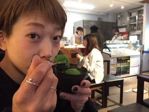 日本一濃い抹茶ジェラート壽々喜園と緑のデザインカラーのお話🍵