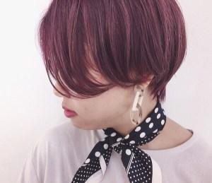 秋のヘアカラーにバイオレットピンクはいかが?