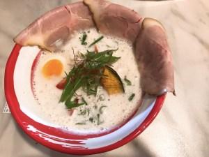 鯛ラーメン!?🍜またまた魚介系スープ!!