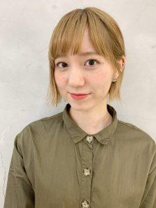 今月最後のblogは注目スタイリスト田中をご紹介❣️