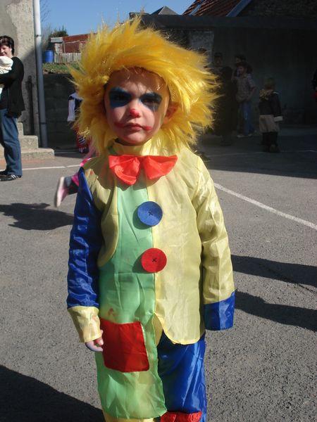 Un mini clown !