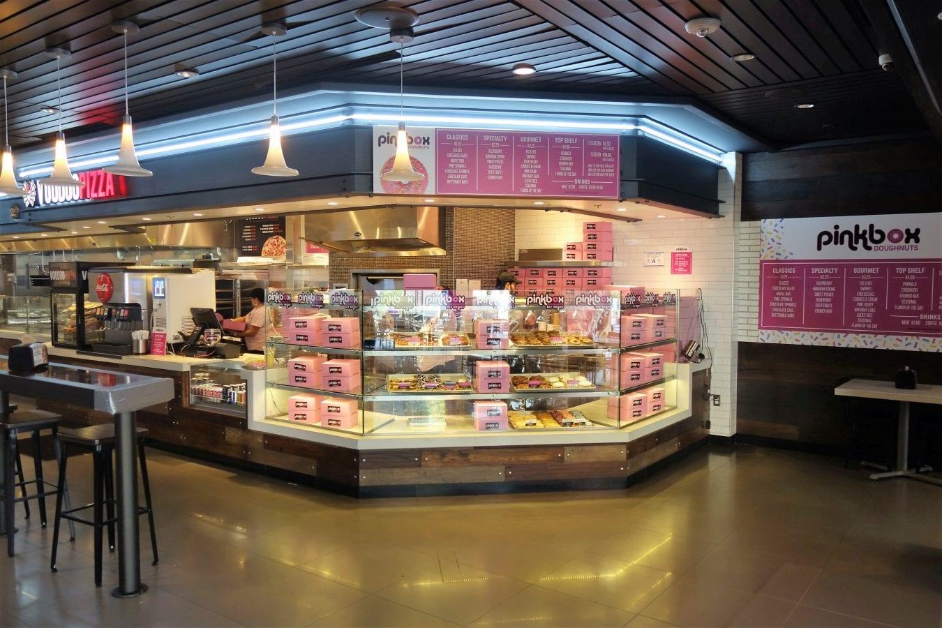Pink Box Doughnuts On The Strip Las Vegas NV