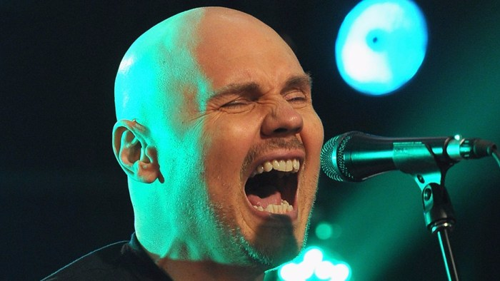 The Smashing Pumpkins Perform At The iHeartRadio Theater Presented By P.C. Richard & Son On June 19, 2012