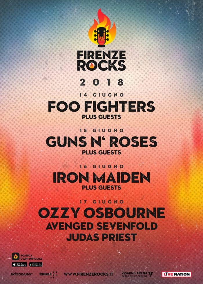 firenze-rocks-line-up