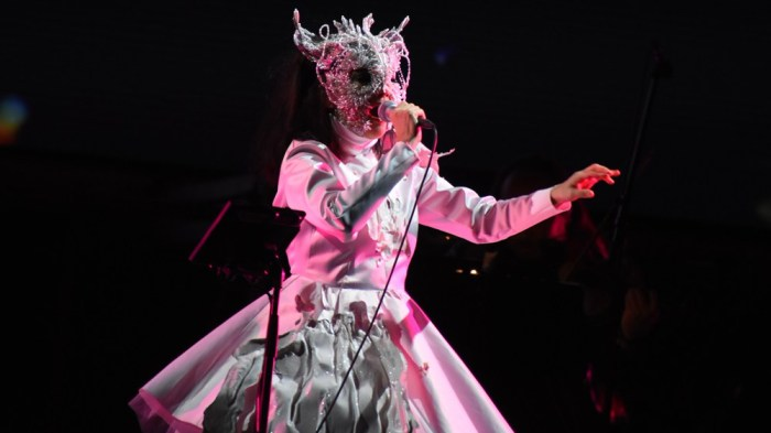 bjork human behaviour live