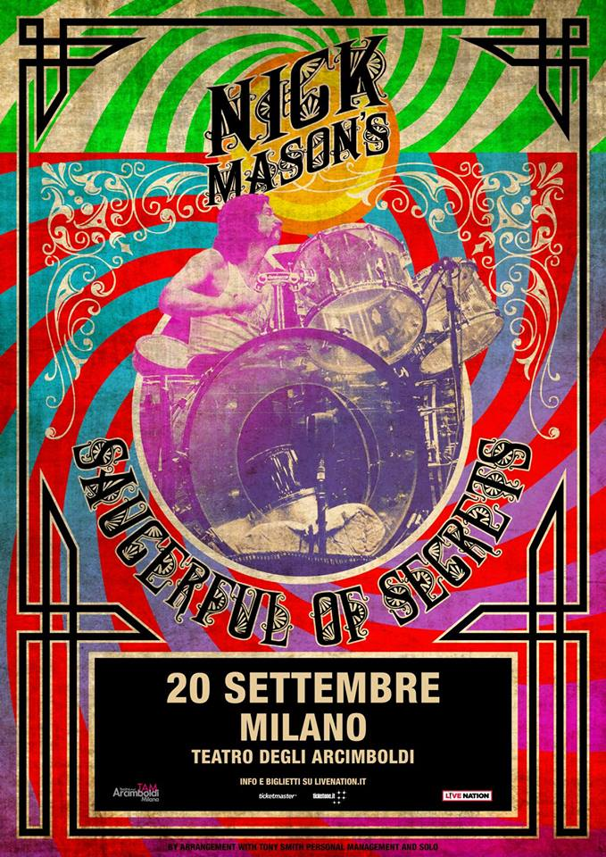nick mason saucerful of secrets concerto milano
