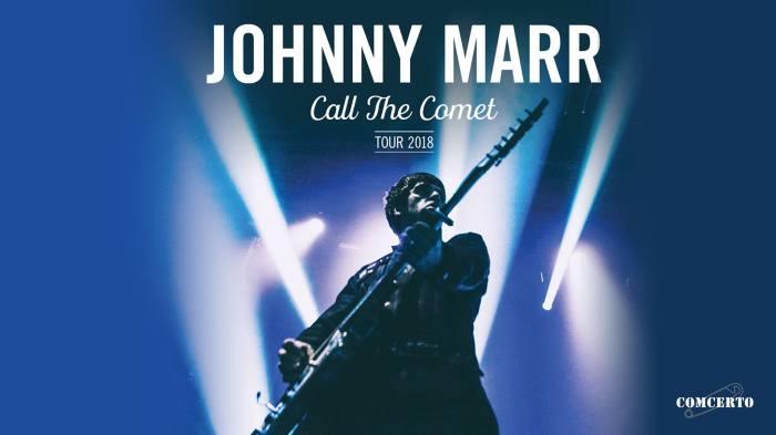 Johnny Marr concerto 29 novembre 2018 al Fabrique di Milano