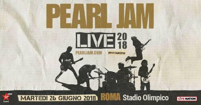 Pearl Jam Roma 26 giugno 2018