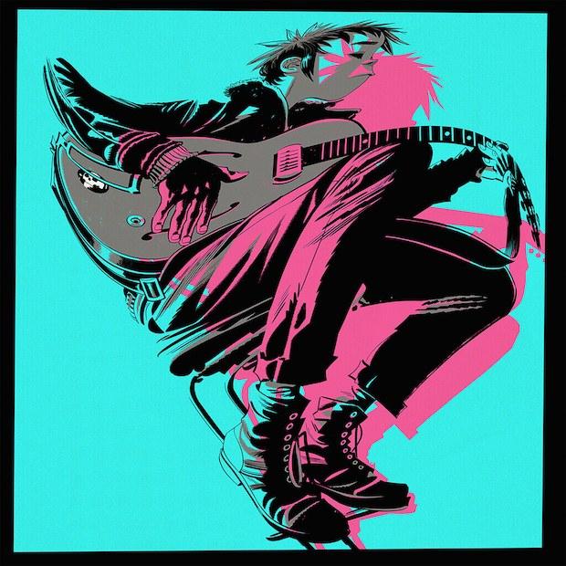 """Gorilaz """"The Now Now"""" copertina cover album"""