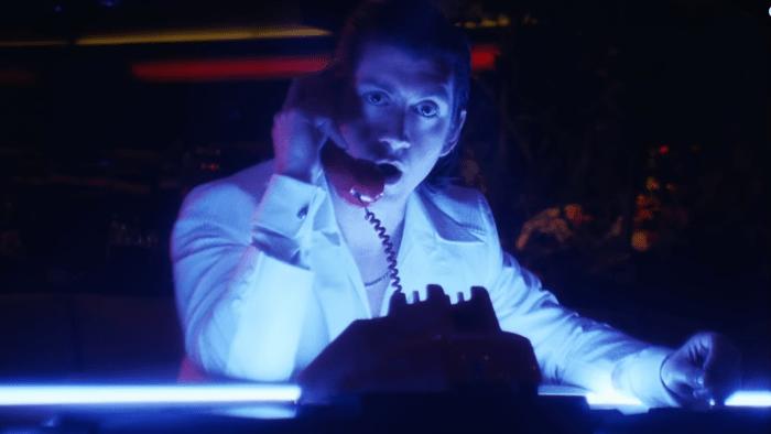 "arctic monkeys ""tranquility base hotel & casino"" video alex turner"