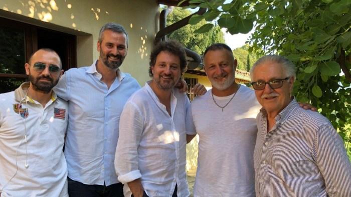 Leonardo Pieraccioni Levante Music srl e Warner Chappell Music Italiana firmano il contratto di collaborazione per la co-gestione dei diritti musicali delle colonne sonore dei film