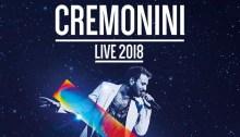 """Cesare Cremonini concerti """"Cremonini Live 2018"""""""