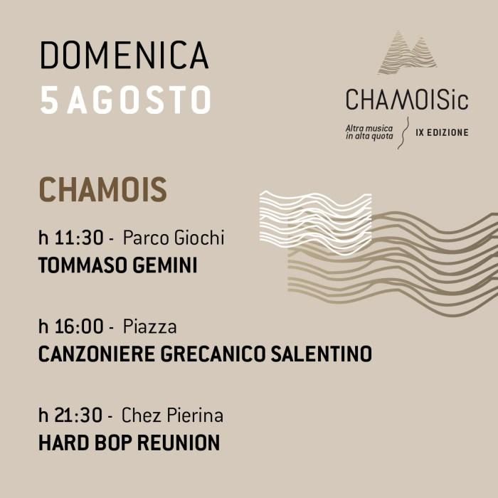 chamoisic-programma-5-agosto-2018-foto