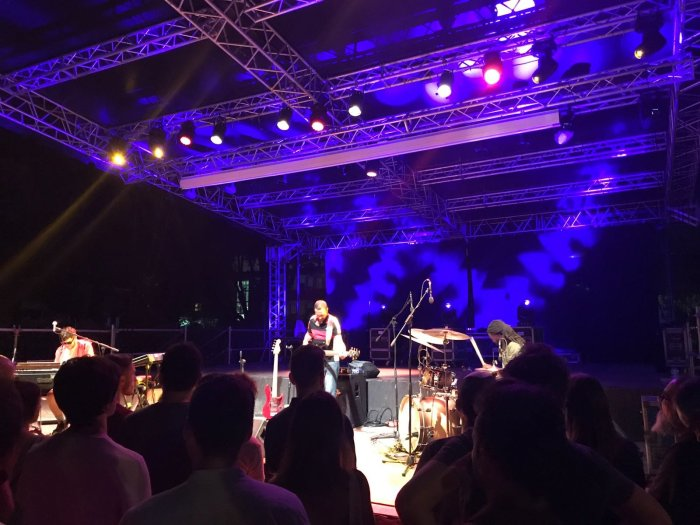 Kamaal Williams concerto sabato 21 luglio 2018 Parterre Farnesina Social Garden - Roma