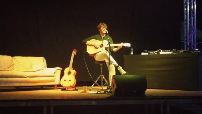 "Albin Lee Meldau report concerto giardino Monk, Roma 6 luglio 2018 ""About You"" foto"