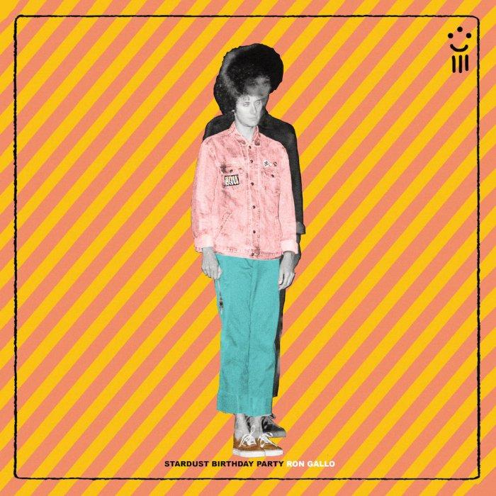 """ron gallo """"stardust birthday party"""" copertina cover album"""