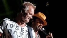 sting e shaggy concerto auditorium roma 28 luglio 2018 foto