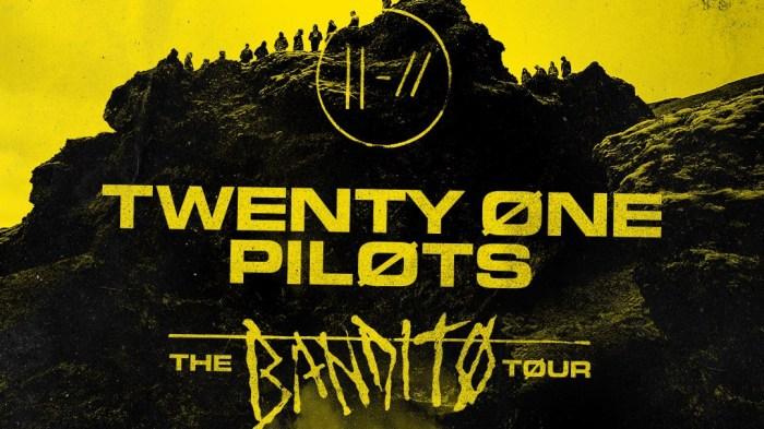 twenty one pilots concerto 21 febbraio 2019 the bandito tour bologna