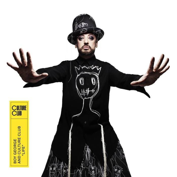 "boy george e culture club cover copertina album ""life"" foto"