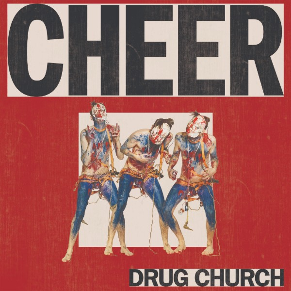 "Drug Church cover copertina album ""Cheer"" in uscita il 2 novembre per Pure Noise Records"