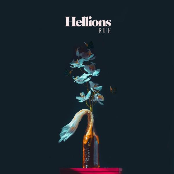 "Hellions ""Rue"" album cover copertina foto"